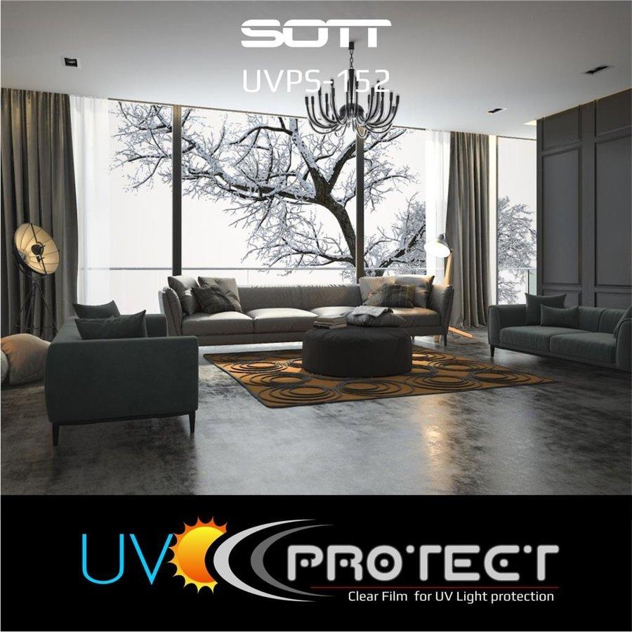 UV Protektion Folie Glasklar -152cm UVPS-152-5