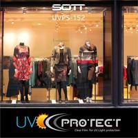 thumb-UV Protektion Folie Glasklar -152cm UVPS-152-6