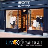 thumb-UV Protektion Folie Glasklar -152cm UVPS-152-7