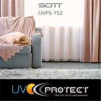 thumb-UV Protektion Folie Glasklar -152cm UVPS-152-8