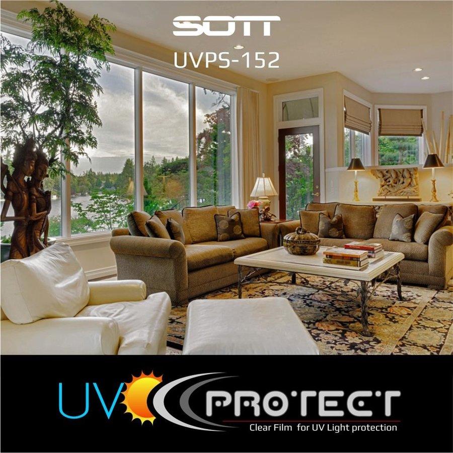 UV Protektion Folie Glasklar -152cm UVPS-152-9