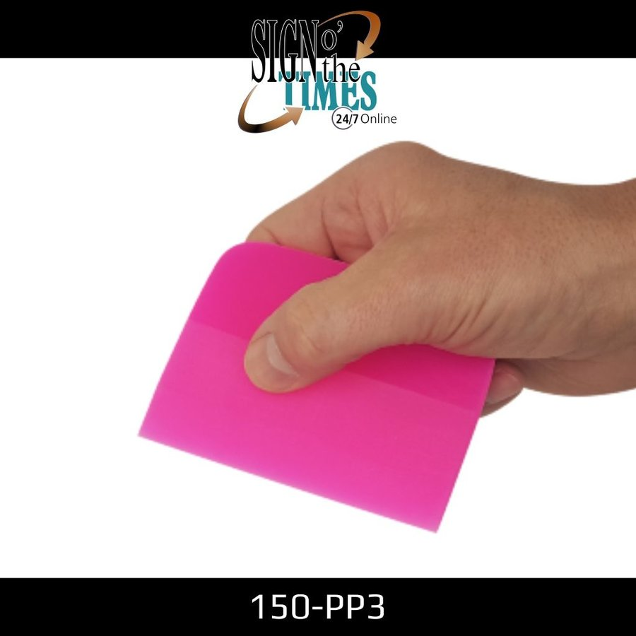 150-PP3 The Pink Shaved Squeegee - 10cm-2