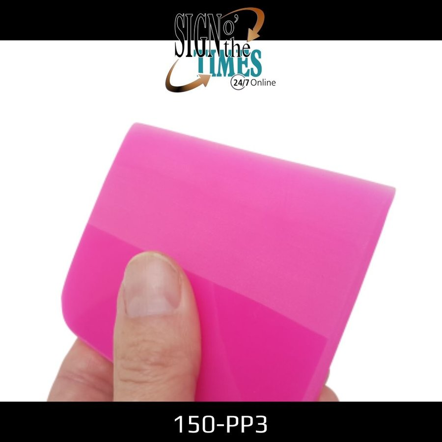 150-PP3 The Pink Shaved Squeegee - 10cm-3