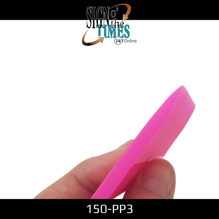 150-PP3 The Pink Shaved Squeegee - 10cm-4