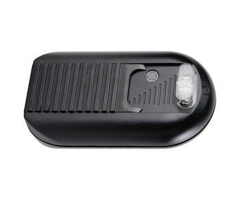 Tradim 31032 Bodendimmer mit 2-Lampen-Schalter 40-500 Watt schwarz