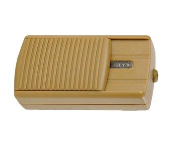 Tradim 11074 vloerdimmer 12 Volt 20-60 Watt brons/goud