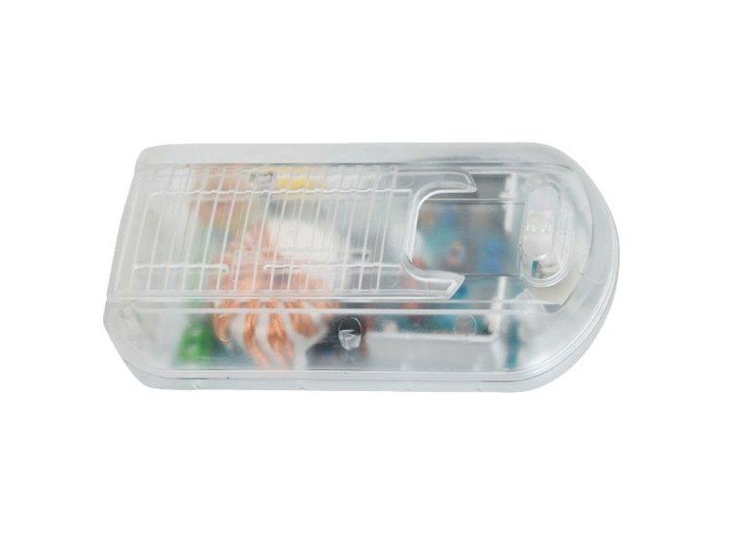 Tradim 31070 vloerdimmer met transformator 12 Volt 35-150 Watt transparant