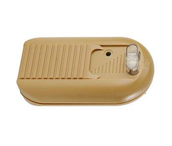 Tradim 31034-1 Fußdimmer mit Schalter 40-500 Watt Bronze/Gold