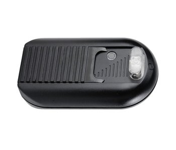Tradim 31030-1 Fußdimmer mit Schalter 40-500 Watt Schwarz