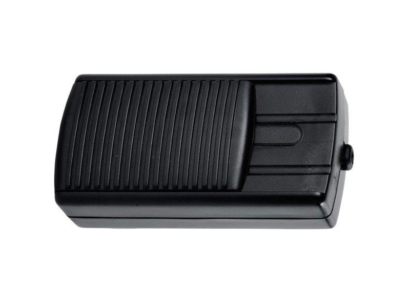 Tradim 11072 vloerdimmer 12 Volt 20-60 Watt zwart