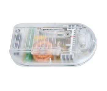 Tradim 31030-1 Fußdimmer mit Schalter 40-500 Watt transparent