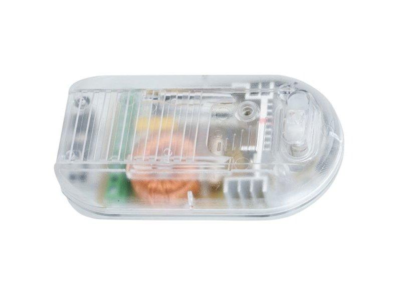 Tradim 31030-1 floor dimmer with switch 40-500 Watt transparent