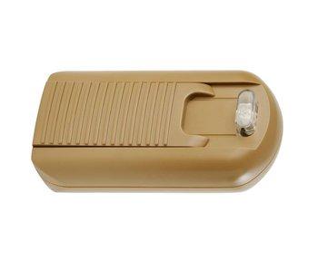 Tradim 31074 Fußdimmer 12 Volt 35-150 Watt Bronze/Gold
