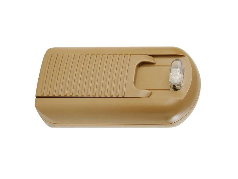 Tradim 31074 Bodendimmer mit Transformator 12 Volt 35-150 Watt Bronze/Gold