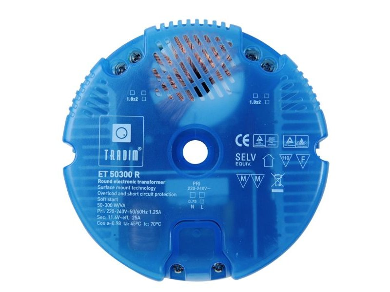 Kaoyi KTB-300A halogeentransformator rond 50-300 Watt