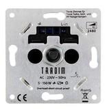 Tradim 2480H muurdimmer 5-150 Watt