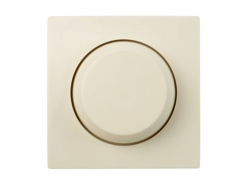 Single dimmer button cream suitable for Gira Standard 55