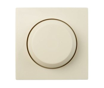 Single dimmer button cream suitable for Merten M-Smart
