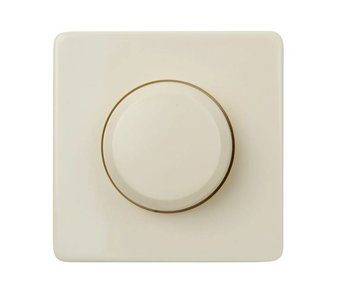 Bouton de gradateur crème simple adaptée à la Peha Standard