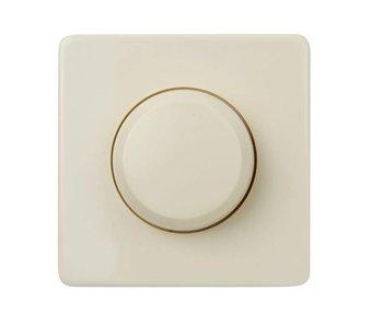 Einfachdimmer-Knopf creme geeignet für Peha Standard