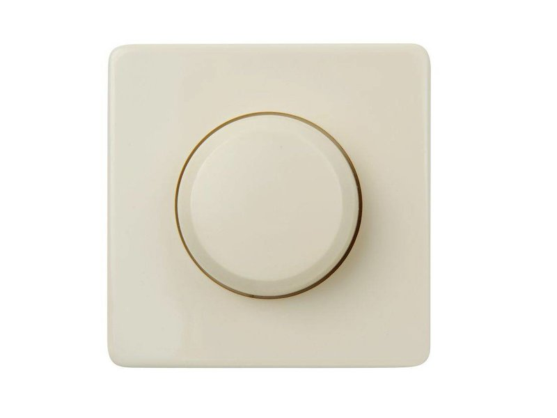 Single dimmer button cream suitable for Peha Standard