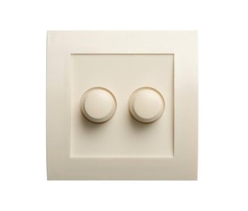 Dual dimmer button cream suitable for Tradim