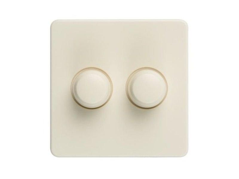 Dual dimmer button cream suitable for Peha Standard