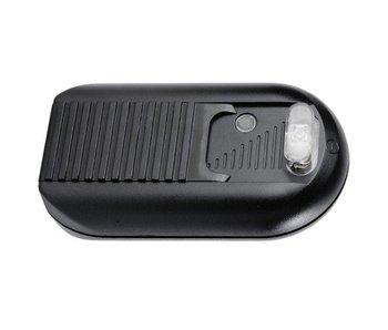 Kaoyi KFD-527S2 Fußdimmer mit 2-Lampen-Schalter 40-500 Watt schwarz