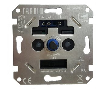 Tradim 2485HEXOP LED dimmer 3-150 Watt réglable