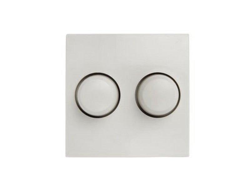 Doppeldimmer-Taster weiß passend für Berker S1