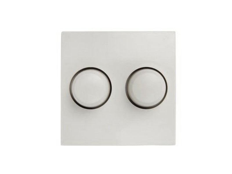Dual dimmer button white suitable for Berker S1