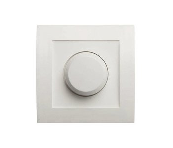 Single dimmer button white suitable for Tradim