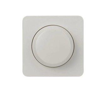 Enkele dimmerknop wit geschikt voor Berker M2