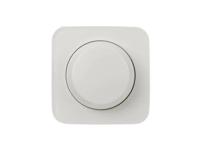 Single dimmer button white suitable for Busch Jaeger SI