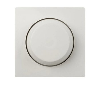Bouton variateur simple blanc adapté au Gira Standard 55