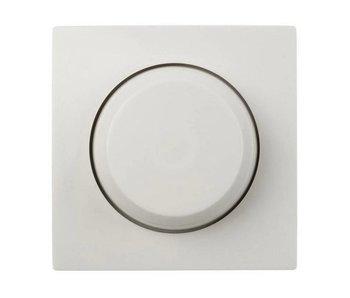 Enkele dimmerknop wit geschikt voor Gira Standaard 55