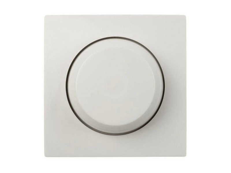 Single dimmer button white suitable for Gira Standard 55