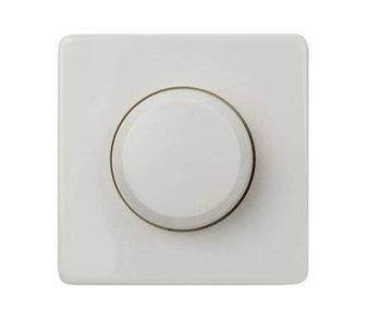 Bouton de variateur simple blanc adapté à la Peha Standard