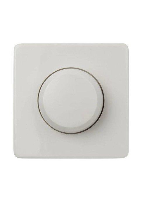 Enkele dimmerknop wit geschikt voor Peha Standaard