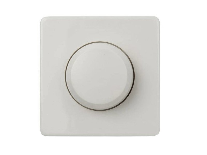 Single dimmer button white suitable for Peha Standard