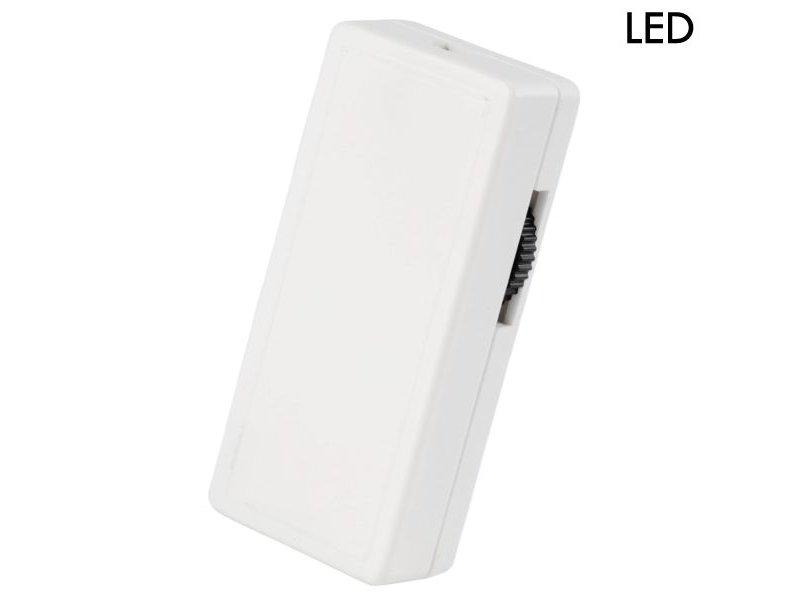 Tradim 62101 LED snoerdimmer 1-25 Watt wit