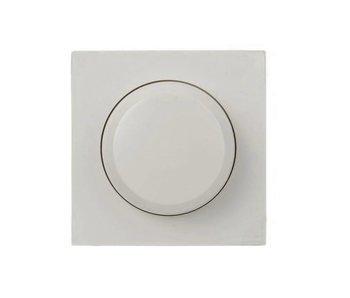 Berker Bouton de variateur simple blanc adapté au Berker S1