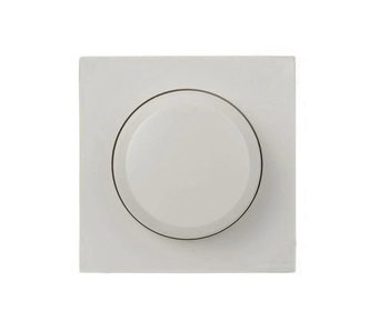 Berker Single dimmer button white suitable for Berker S1