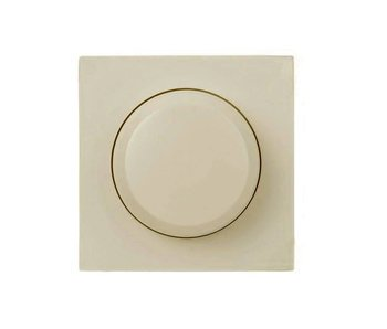 Berker Single dimmer button cream suitable for Berker S1