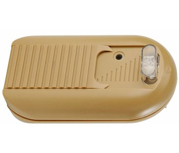 Tradim 631034-1 LED footslide dimmer with switch 1-60 Watt gold