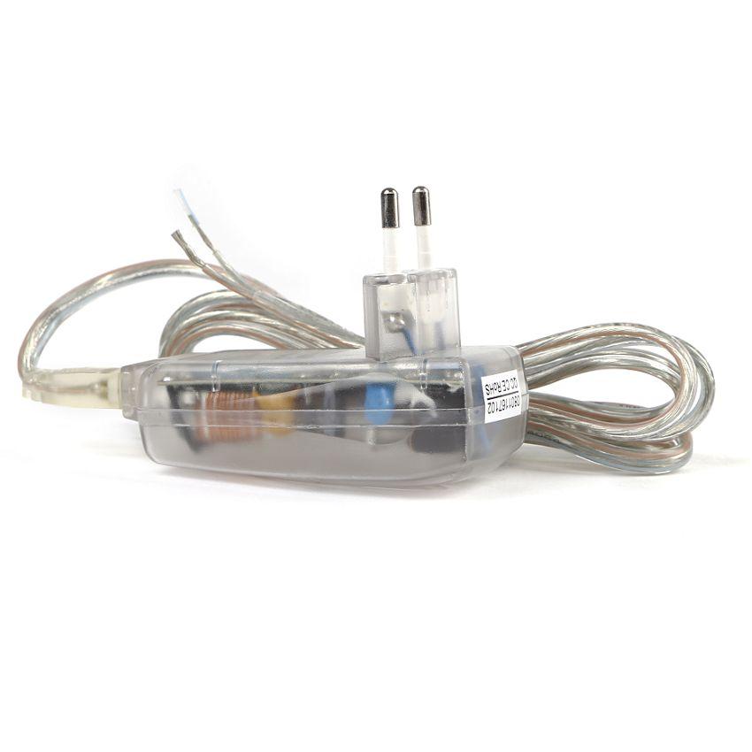 DEUX fils de sortie du transfo avec les QUATRE fils du ventillo :-).