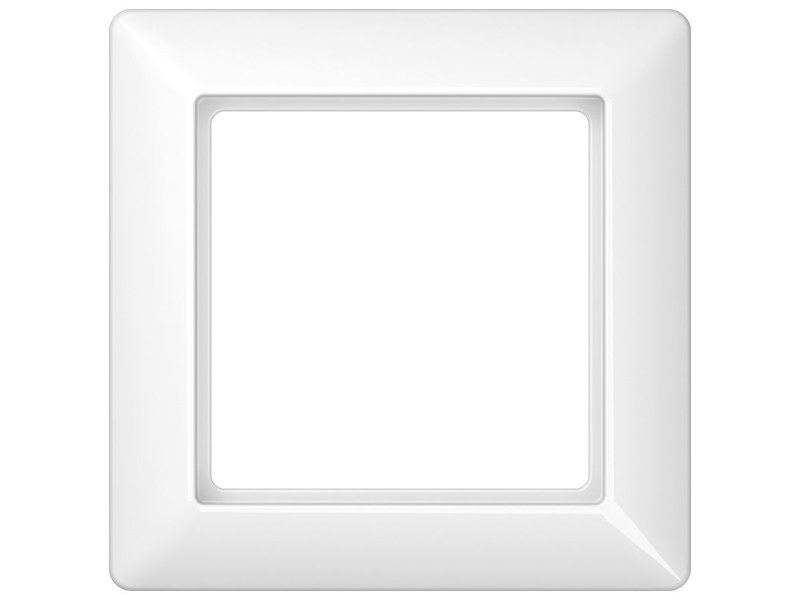 Jung AS500 afdekraam eenvoudig  wit AS581WW
