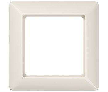 Jung AS500 single cream cover frame AS581