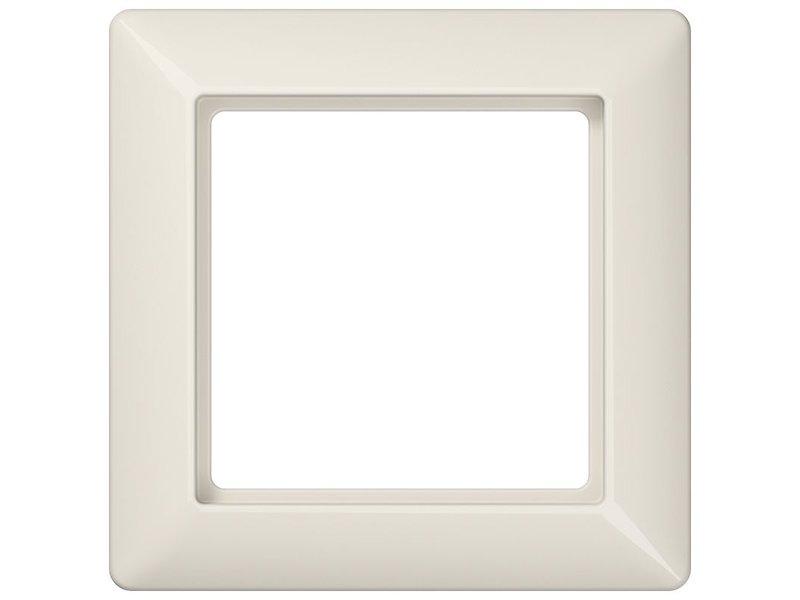 Jung AS500 cadre de couverture simple crème AS581