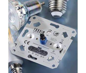 Tradim 2489H 500W LED wall dimmer